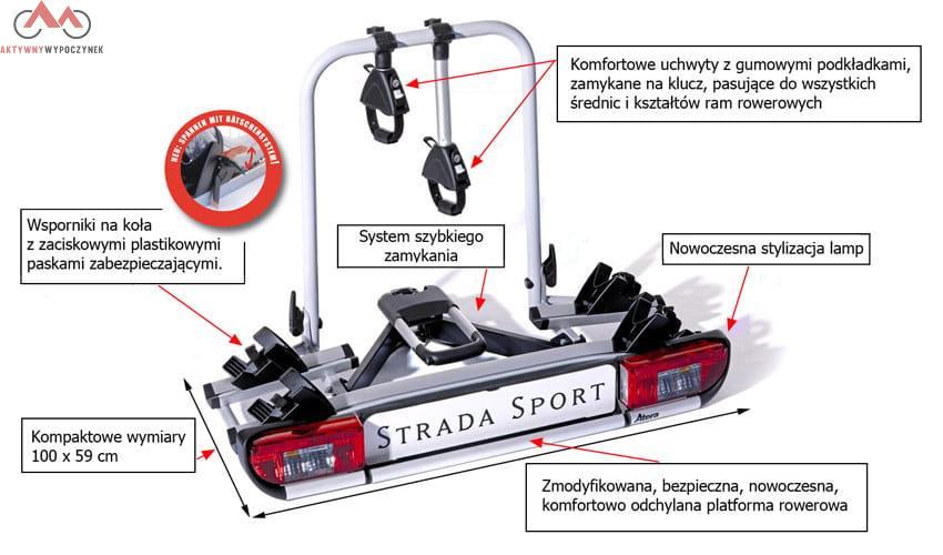 atera strada sport m3 na 3 rowery platformy rowerowe. Black Bedroom Furniture Sets. Home Design Ideas