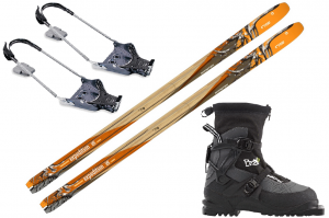 Sporten Expedition + Fischer BCX 875